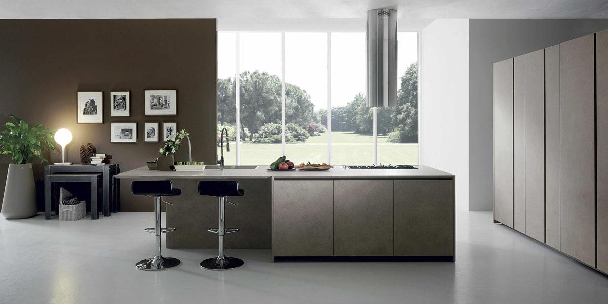Del tongo corner mobili gala for Cucina moderna tecnologica
