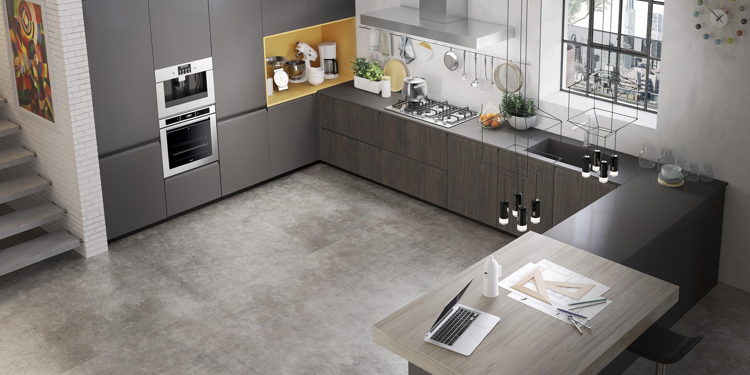Del tongo gibilterra mobili gala for Cucine moderne ad angolo