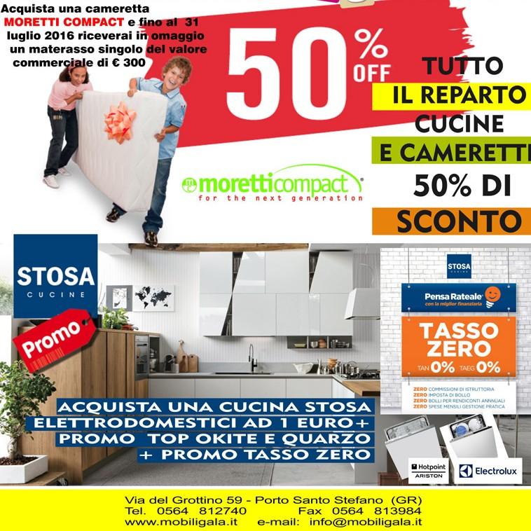 Promozioni e offerte speciali su mobili e arredamento per for Sconti mobili
